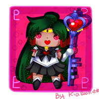 Pucci Sailor Pluto  SPEEDPAINT by KiaCookie