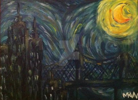 nyc starry night by Lithium-Marvin