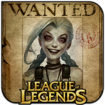 League of Legends - Wanted Jinx by griddark