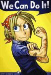 l. rosie the riveter by reiley