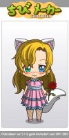 me as a chibi ^^ by NeonCandyLights