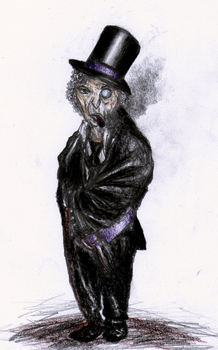 Oswald Cobblepot - The Penguin by punkandartStJimmy