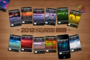 2012 iPhone Calendar Megapack by 5-G