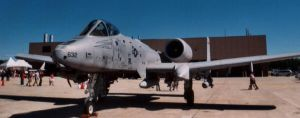 A-10 Side Front by Jarndahusky