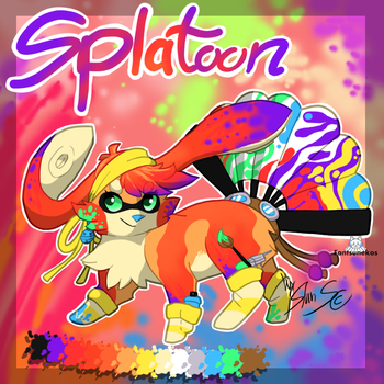DTA : Splatoon Fantsuneko : CLOSED by StanHoneyThief