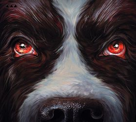Cujo by Stephen King by ViLebedeva