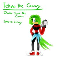 Tekno the Canary (Redux) by TipsyRa1d3n
