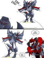 Starscream's Mating Call by neoyi