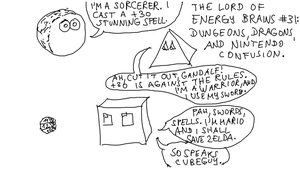 EBC #31: Dungeons, Dragons, And Nintendo Confusion by EnergyBrainComics