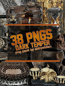 Dark Temper PNG Pack by Abbysidian by Abbysidian