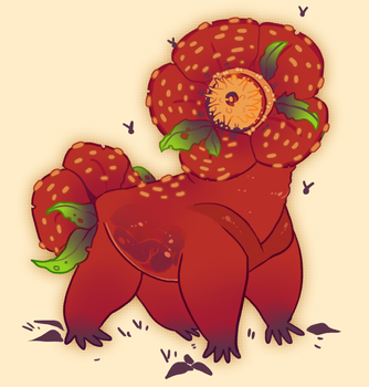CLOSED Auction - Rafflesia by occultic