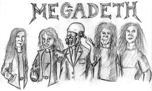 Megadeth today by ZethKeeper