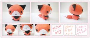 Fox Plushie by Usato
