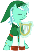 Lyra as Link by pageturner1988
