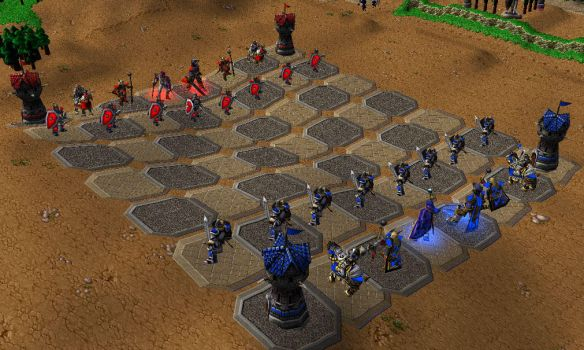 warcraft chess by viperaspec
