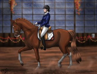 Autumn Event 5.0 - Pilgrim Dressage by RQsf