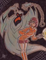 Velma from Scooby Doo by calslayton