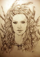 Lagertha the shieldmaiden by WLimit