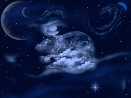 Bluer Planet Wallpaper by WDWParksGal-Stock