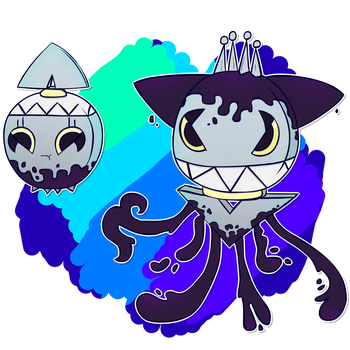Fakemon Inklad - Ingkind by Coonstito