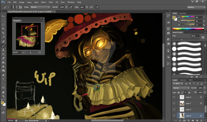 Day of the Dead WIP by Hugonimus