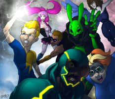 CBR Heroes by shaneoid77