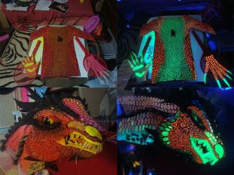 Smaug Costume Update by RegineSkrydon