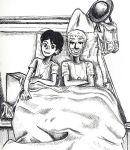 Sharing a Bed by sweet-suzume