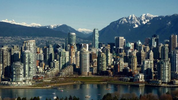 Vancouver Shorter Panoramic by CoFFeeZomBee