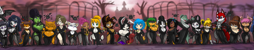 TOPPY'S 44 SEXY GHOULS OF THE NIGHT 33 by ShoNuff44