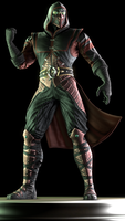 Ermac (Alternate) by Yare-Yare-Dong