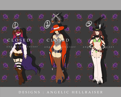 Adopts : Auction 8 [CLOSED] by AngelicHellraiser