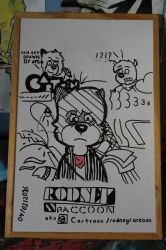 Rodney Raccoon again! by AygoDeviant