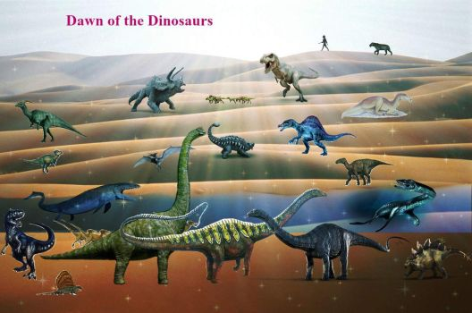 'Dawn of the Dinosaurs' 1st revamp by Daltharion