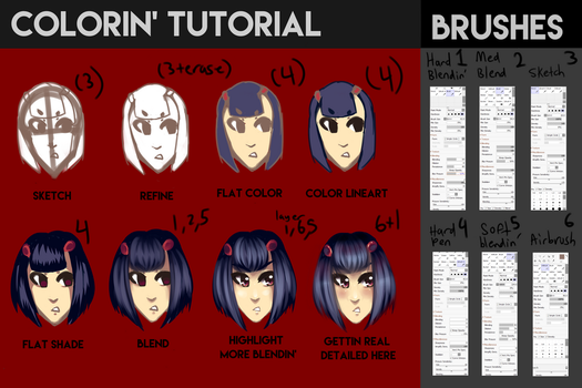 Colorin' Tutorial by FriedSoup