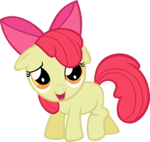 Vector Apple Bloom by Kyss.S by KyssS90