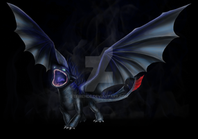 Toothless - New Alpha by Efirende