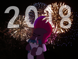 Twilight and Fizzlepop's New years by EJLightning007arts
