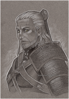 ::Geralt of Rivia:: by sionra