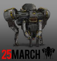 March of Robots 25 by yongs