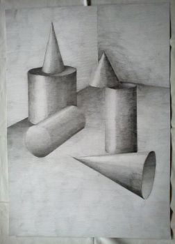 Cylinders and Cones by chupacabraNH