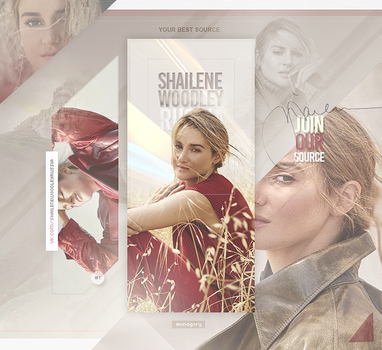 Shailene Woodley by monagory