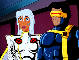 Storm and Cyclops by JOSGUI
