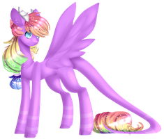 P.C.:-Rainbow Crystal- by Clefficia