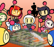.:Let's Play Some Bomberman R:. by CaitlinTheStarGirl