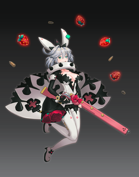 GUILTY GEAR XR-REVELATOR-        Elphelt Valentine by kero22