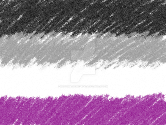 Asexual Pride Flag (Transparent Background) by NightshadeCreepypasa