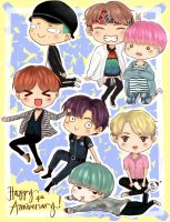 4 years with BTS by taekuyaki