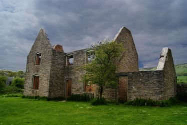 Cottage Ruins, Tyneham by wafitz