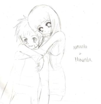 sketch: Naruhina by minamongoose